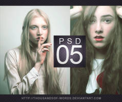 PSD COLORING 05 | Untitled by herrondale