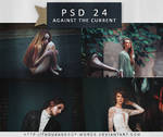 PSD COLORING 24 | Against The Current