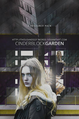RESOURCE PACK 03 | Cinderblock Garden
