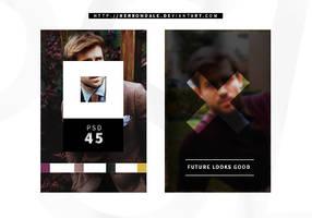 PSD COLORING 45 | Future Looks Good
