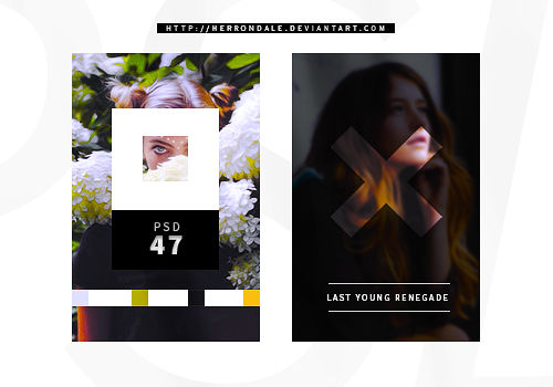 PSD COLORING 47 | Last Young Renegade