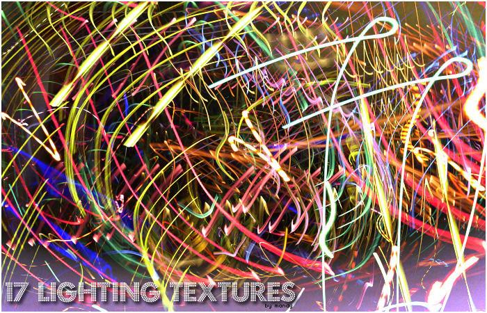 Lighting Textures by psicodelica