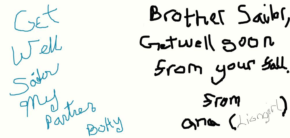Get Well Soon Brotheroc Partner By Liongirl2289 On Deviantart