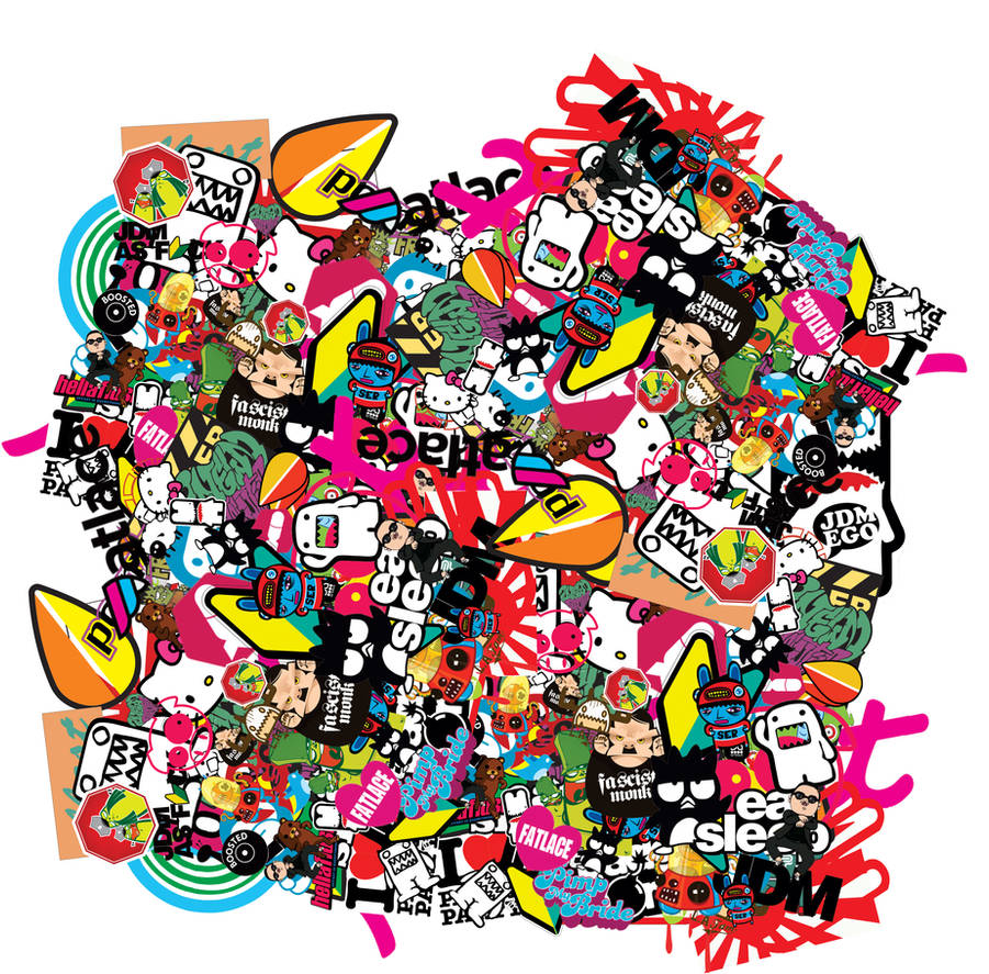 Stickerbomb Png