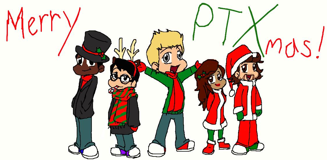 Merry PTXmas!!! by gleefulchibi