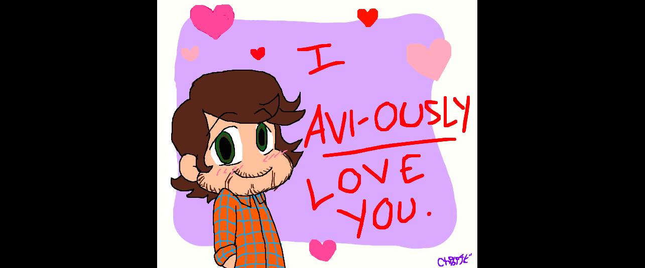 PTX Avi Kaplan Valentine: I Avi Ously Love You By Gleefulchibi ...