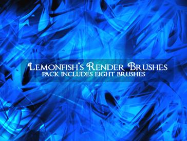 Render Brushes by Lemonfish by lemonfish