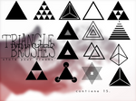 Triangle brushes - .ABR