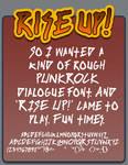 Rise Up font