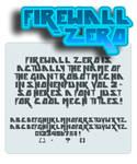 font: Firewall zero