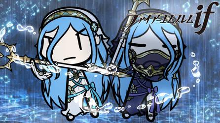 [Walfas Custom] Azura - Fire Emblem Fates
