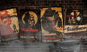 Silver Shroud Posters