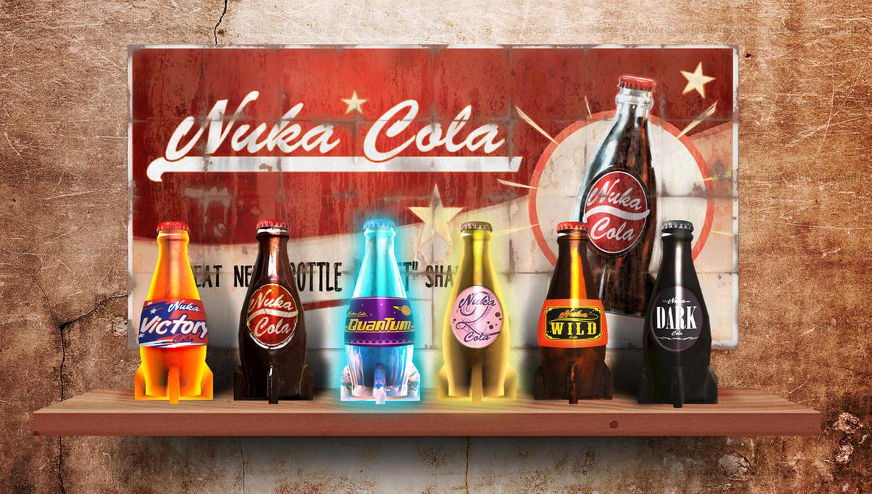 nuka cola labels by bruno sathler on deviantart