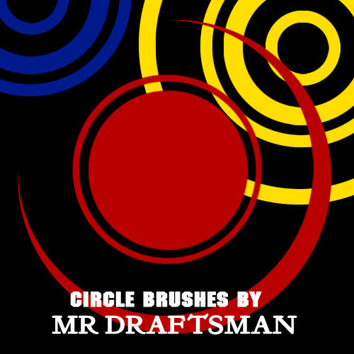Circle Brushes by MrDraftsman