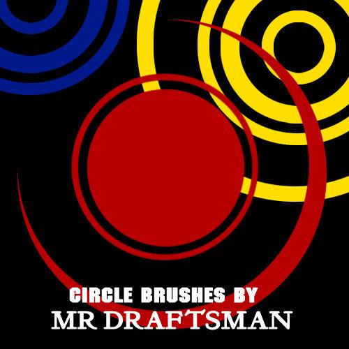 Circle Brushes by MrDraftsman