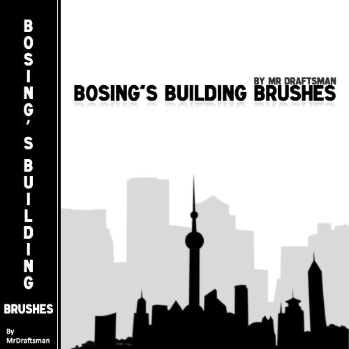 Bosing's Building Brushes by MrDraftsman