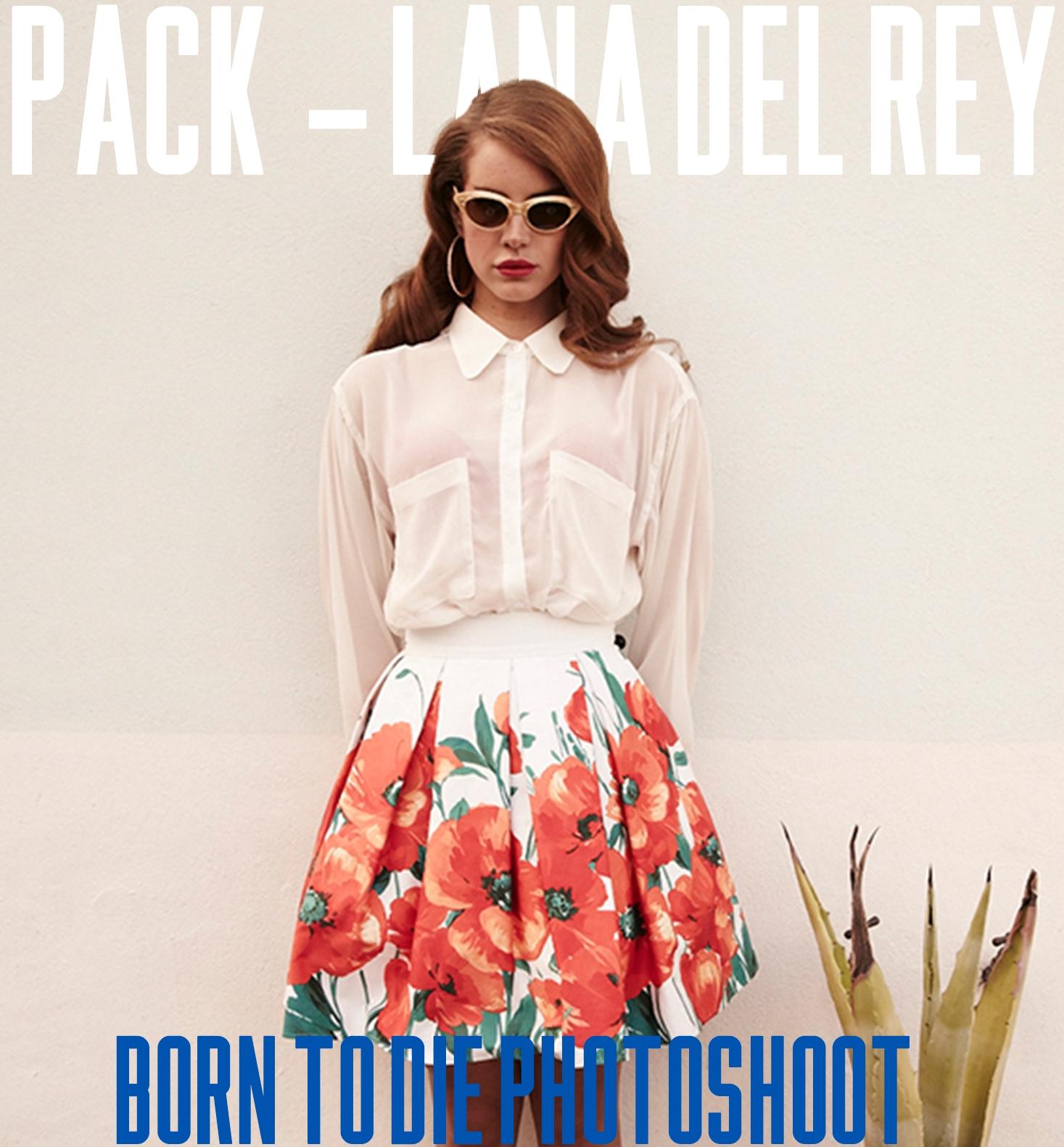 Pack Lana Del Rey Born To Die Photoshoot By Parkroseanne On Deviantart