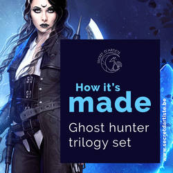 Process ebook cover ghost hunter trilogy
