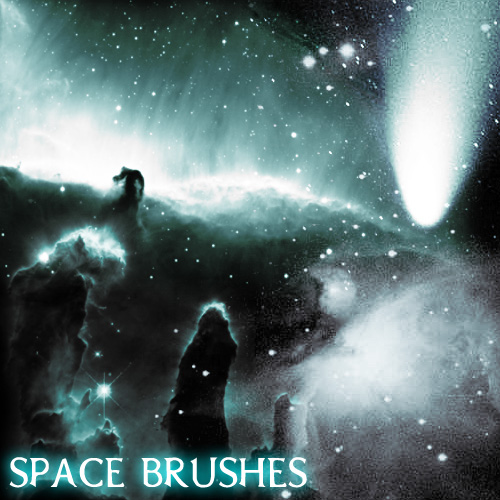 S.P.A.C.E. Photoshop Brushes