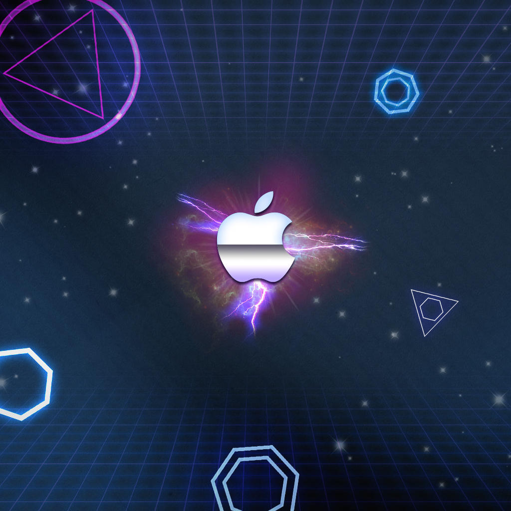 Tron Apple Wallpaper by WhoIsScott