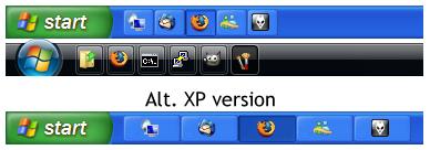 Iconize Taskbar Buttons by sw2