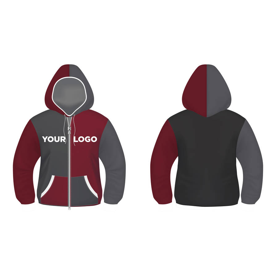 Hoodie Design Vector Template FREE by modern2143