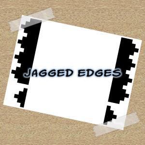 Jagged edges GIMP brushes