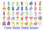 Care Bear Dock Icons