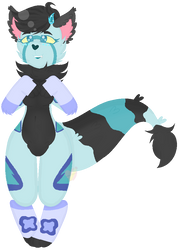 Pixel Pagedoll for Cotton-Queen (Commission) by MilkywayGalaxy23