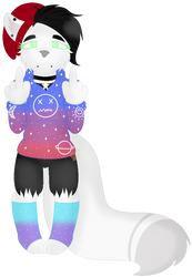 Pixel Pagedoll for Space--Paws0w0(Commission) by MilkywayGalaxy23