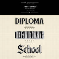 Diplomatic ~Text Styles~ by hxwlett
