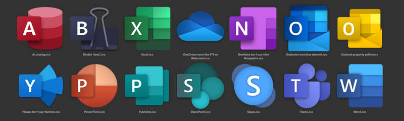 Office2019 professional icon pack for free