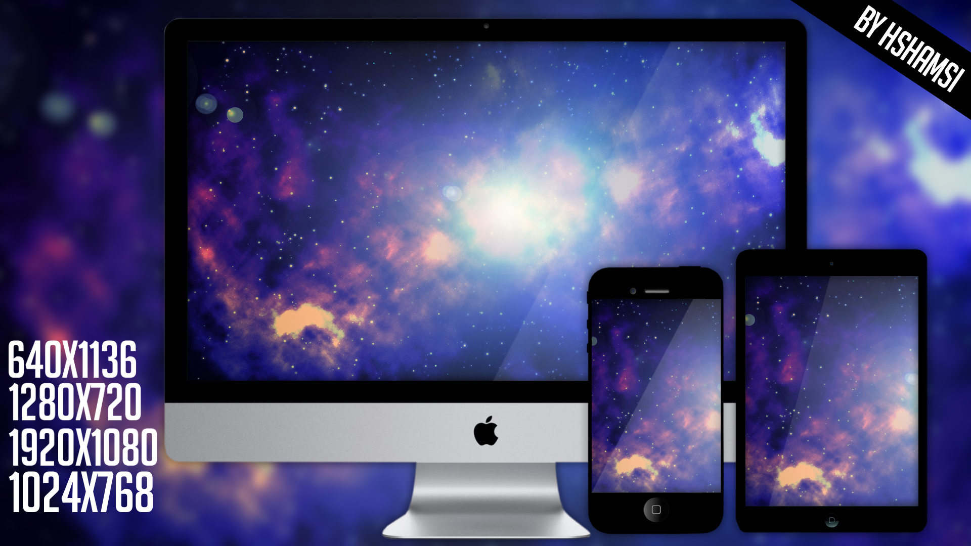 Space HD wallpapers by Hshamsi