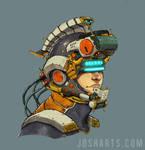 The space trojan Helmet