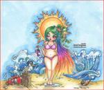 Beach Beauty II by Leochi