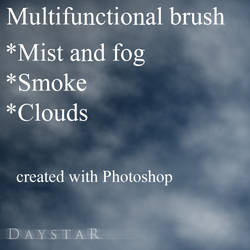 Mist/fog/smoke/cloud brush