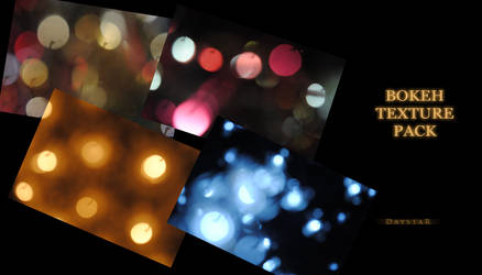 Colourful bokeh texture pack 1 by Muse-of-Stock