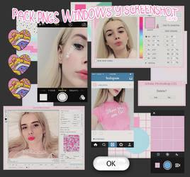 PACK pngs windows y screenshot by babxsclub