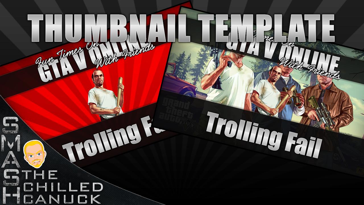 Youtube Thumbnail Template by xsmashx88x on DeviantArt