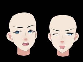 [MMD] Male head 2 DL by auauauaua
