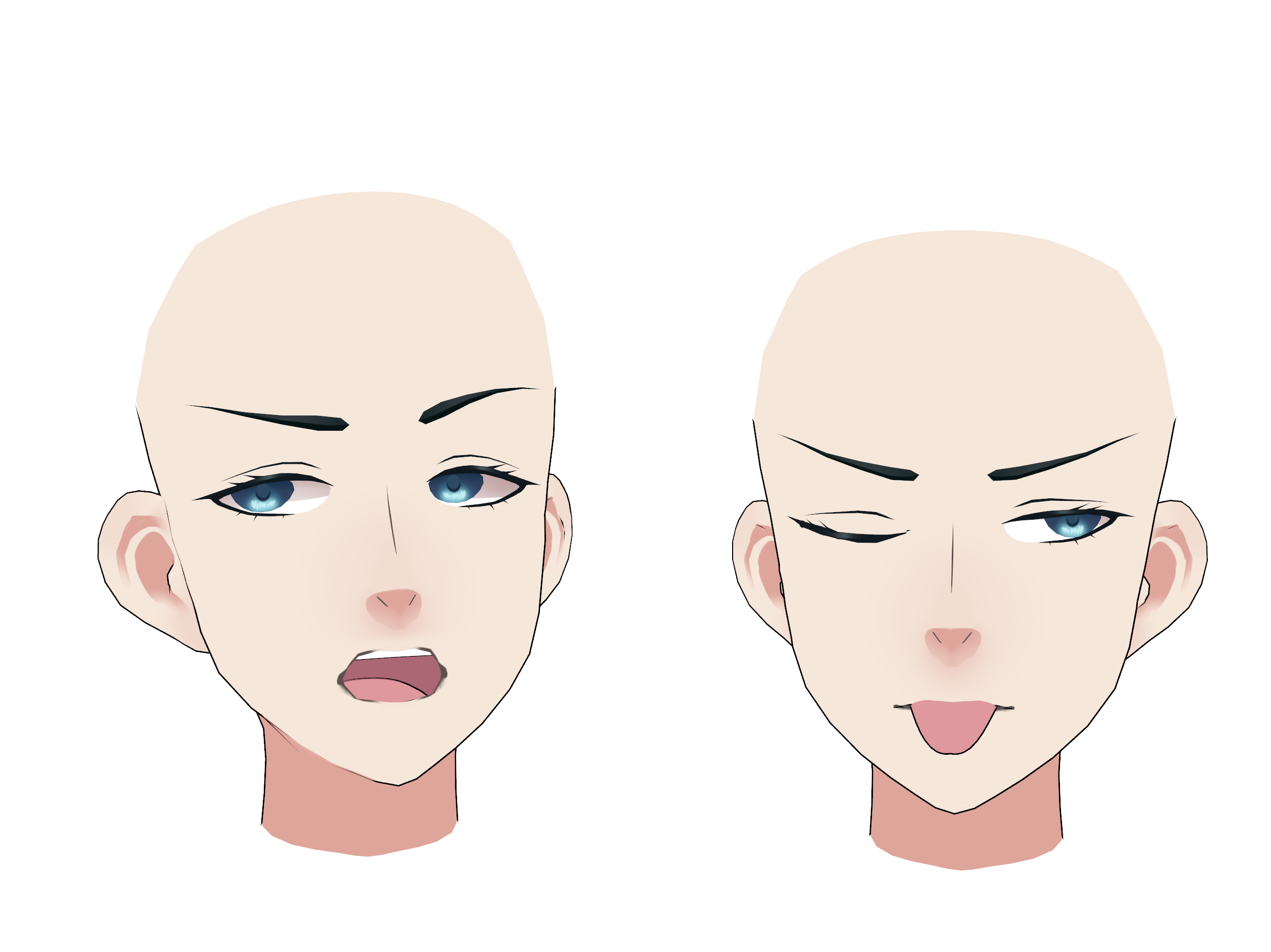 face Mmd male