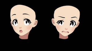 [MMD] face 4