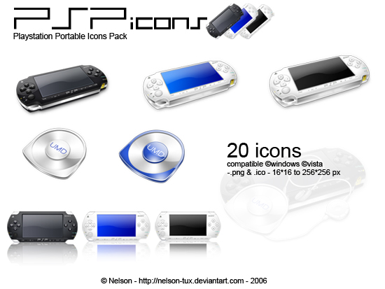 Psp icons