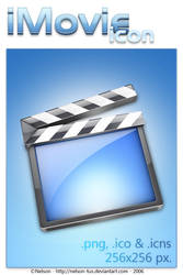 iMovie Icon by Nelson-Tux