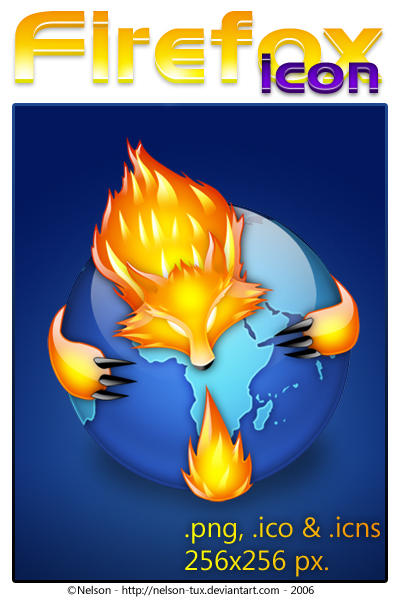 Firefox V2 Icon by Nelson-Tux