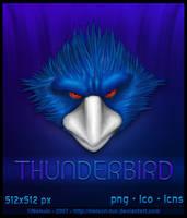 Thunderbird Icon by Nelson-Tux