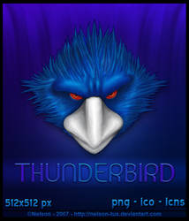 Thunderbird Icon by Nelson-Tux