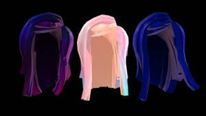 MMD | ROBLOX Hairs #3 +DL