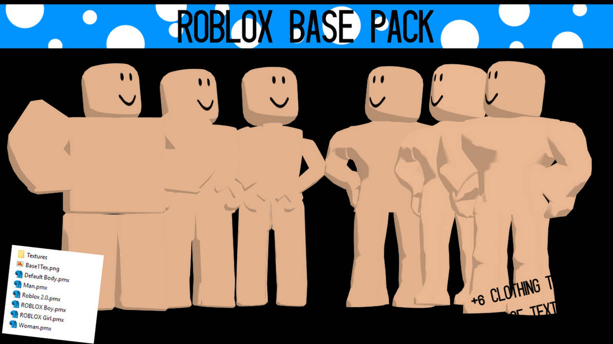 Mmd Download Roblox Base Pack Updated By Reeceplays On Deviantart