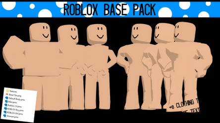 MMD DOWNLOAD | ROBLOX Base Pack [UPDATED!]